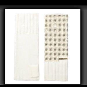 Michael Kors Gold Studded  Arm Warmers /Fingerless